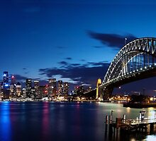 Sydney Harbour Bridge by damienlee