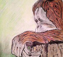 The Thinker by Deborah Vicino