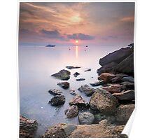 Sunrise to Rocks !!! Poster
