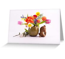 Easter composition Greeting Card