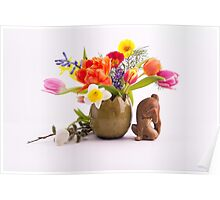 Easter composition Poster