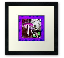 Birth of March Hare Framed Print