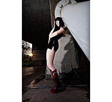 BLK Photographic Print
