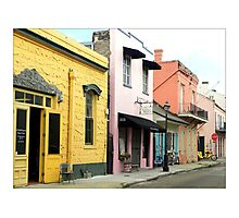 Early Morning In The French Quarter Photographic Print