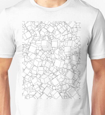 Cubic B&W Unisex T-Shirt