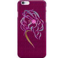 Lady Glitter iPhone Case/Skin