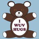 Supernatural 'I Wuv Hugs' by Avia Asner