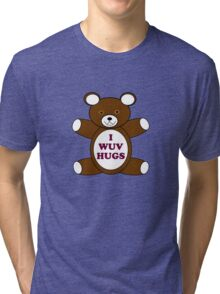 Supernatural 'I Wuv Hugs' Tri-blend T-Shirt