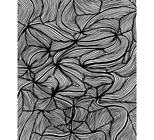 Swirly swirls - OneMandalaADay Photographic Print