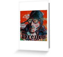 Sly Pilot by Drenco Greeting Card