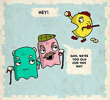 Pac Man by Mark Wilkie