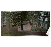 Little Shed in The Trees Poster