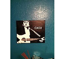Jonny Cash Photographic Print