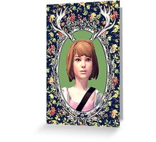 Max Portrait - Life is Strange Greeting Card