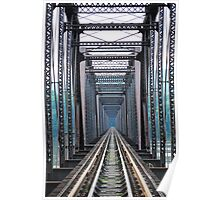 Susquehanna River Bridge Poster