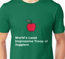 World's Least Impressive Troop of Jugglers Unisex T-Shirt