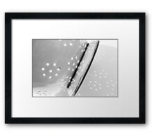 colander Framed Print