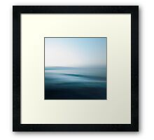 Perfect Day at Sea Framed Print
