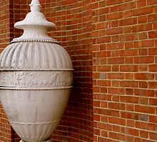 Decorative Urn - Smalltown USA Series by ctheworld