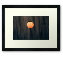 Softly Sun Framed Print