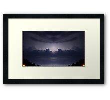 Lightning Art 22 Framed Print