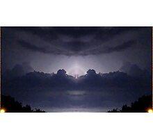 Lightning Art 22 Photographic Print