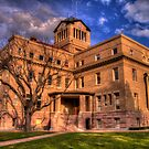 Navarro County Courthouse (Corsicana, Texas) by Terence Russell