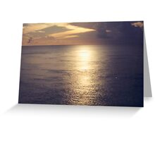 Sun and Sea, Caribbean Greeting Card