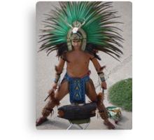 Indian Drummer - Baterista Indígena Canvas Print