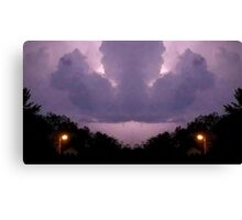 Lightning Art 15 Canvas Print