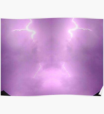 Lightning Art 003 Poster