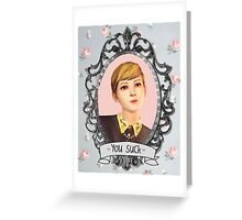 Victoria Portrait - Life is Strange Greeting Card