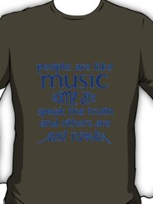 People = Music ?? T-Shirt