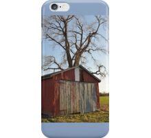 Aged Barn iPhone Case/Skin