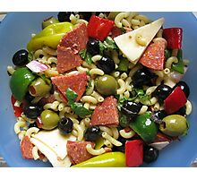 Antipasto Salad Photographic Print