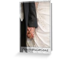Wedding or Engagement Congratulations Greeting Card