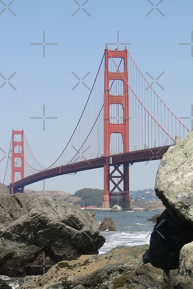 The Golden Gate Bridge  by Barrie Woodward