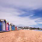 Brighton Bathing Boxes by peterperfect