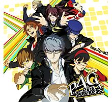 Persona 4 : The Golden Photographic Print
