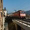 InterCity train passing Bacharach, Germany by David A. L. Davies