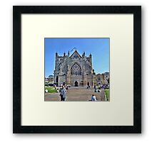 Exeter Cathedral Devon. UK Framed Print