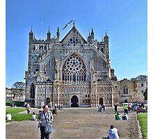 Exeter Cathedral Devon. UK Photographic Print