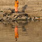 Reflection of a Saddhu by SerenaB