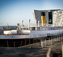 Titanic Series No10. S.S. Nomadic by Chris Cardwell