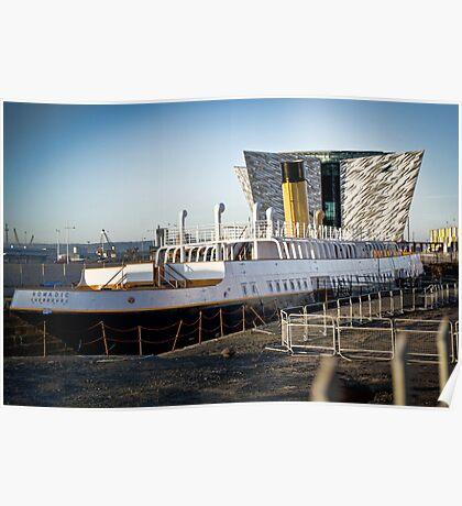 Titanic Series No10. S.S. Nomadic Poster