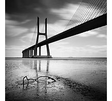 Vasco da Gama Bridge #01 Photographic Print