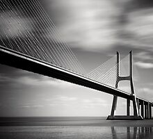 Vasco da Gama Bridge #02 by Nina Papiorek