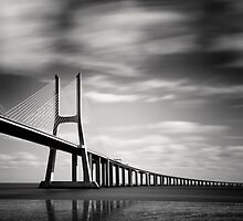 Vasco da Gama Bridge #03 by Nina Papiorek