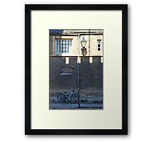 Merton Street, Oxford, UK Framed Print