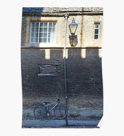 Merton Street, Oxford, UK Poster